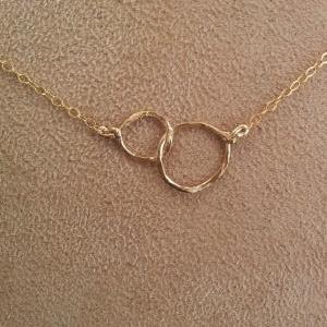 Love Link choker necklace - Gold or..