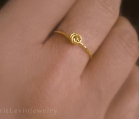 Gold Ring, Love Knot..