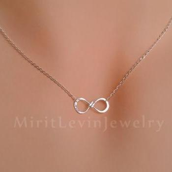 Sale - Necklace and Bracelet set Infinity pendant, Gift for her,Best friend, sisters,Mother Daughter, birthday gift