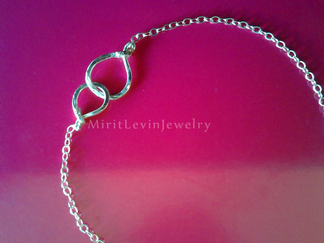 Best Friend Friendship Bracelet Or Anklet Gifts For Friends Birthday ChainBenglecharmGir On Luulla
